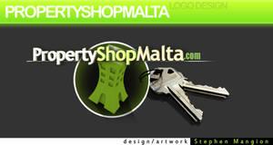 PropertyShopMalta Web Logo