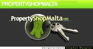 PropertyShopMalta LogoArt v.3