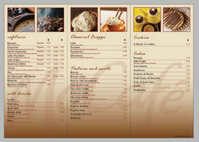 McCafe Menu design _INLAY by mangion