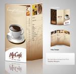 McCafe Menu design showcase by mangion
