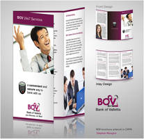 Banking brochure by mangion