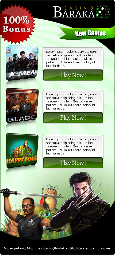 Marvel Games Email Design by mangion