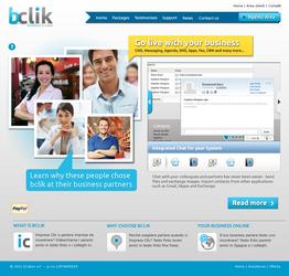 bclik landing page