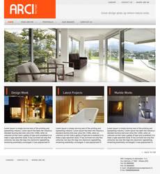 Architecture site layout (minimalistic design)