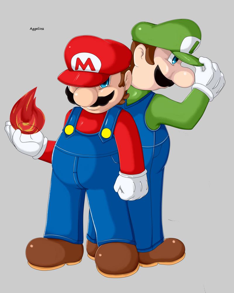 Super Mario Bros by AGGELIOSS