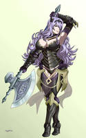 Camilla - Fire Emblem Fates by AGGELIOSS