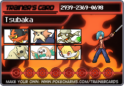 Tsubaka in Pokemon Moon