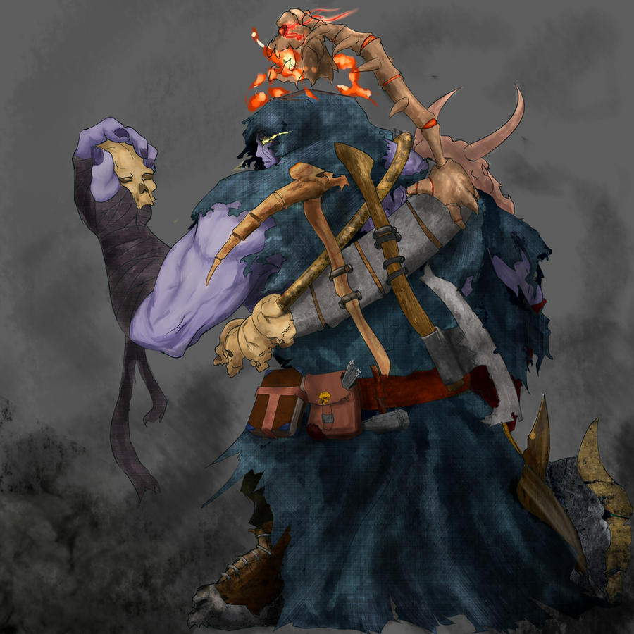 ... [League of legends]SkullCollector Yorick by Legalia