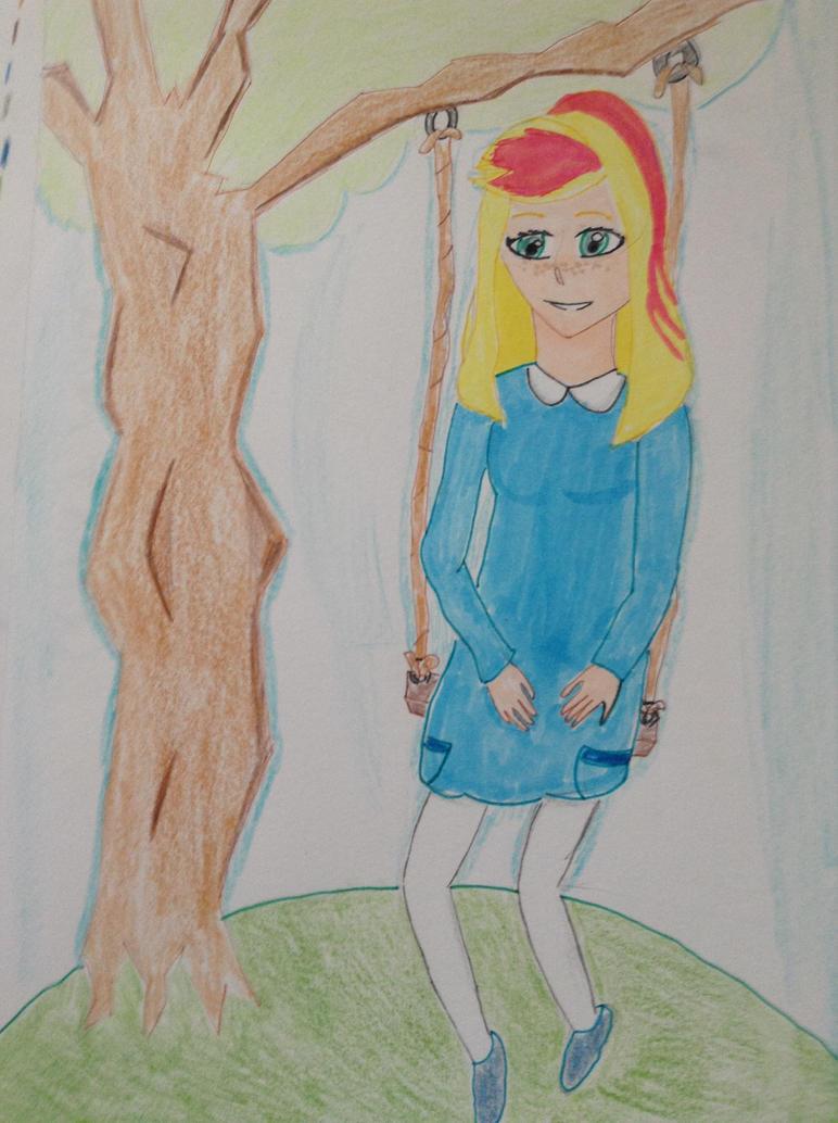swing girl by thefabulousduck