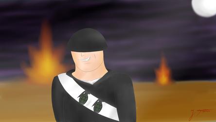 (Team Fortress 2) Soldier's battlefield.