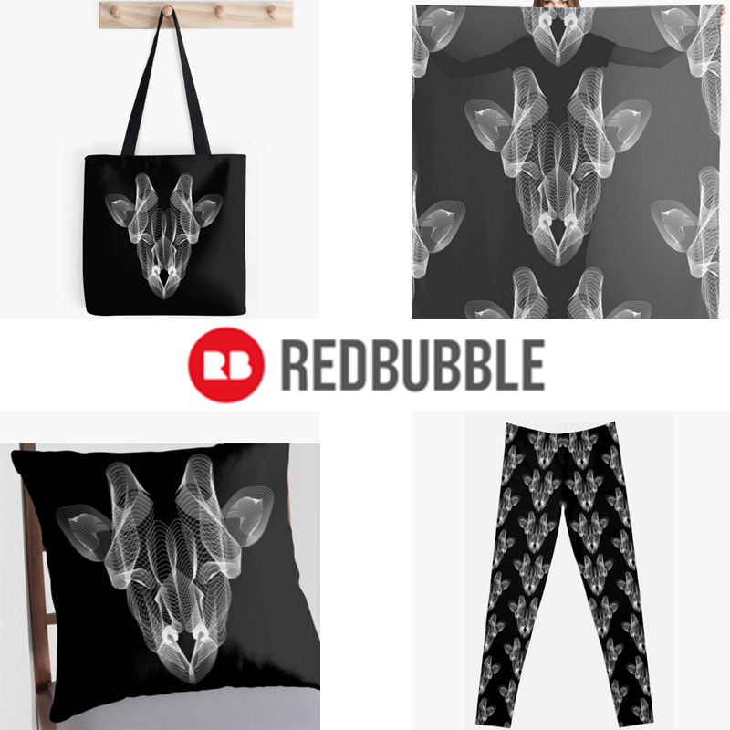 Giraffe Head - Redbubble by kyofanatic1