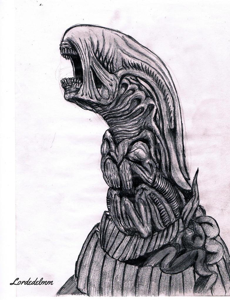 Alien Queen Chestburster by lordedelmmXenomorph Queen Chestburster