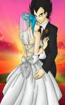 Lynn and Vegeta wedding