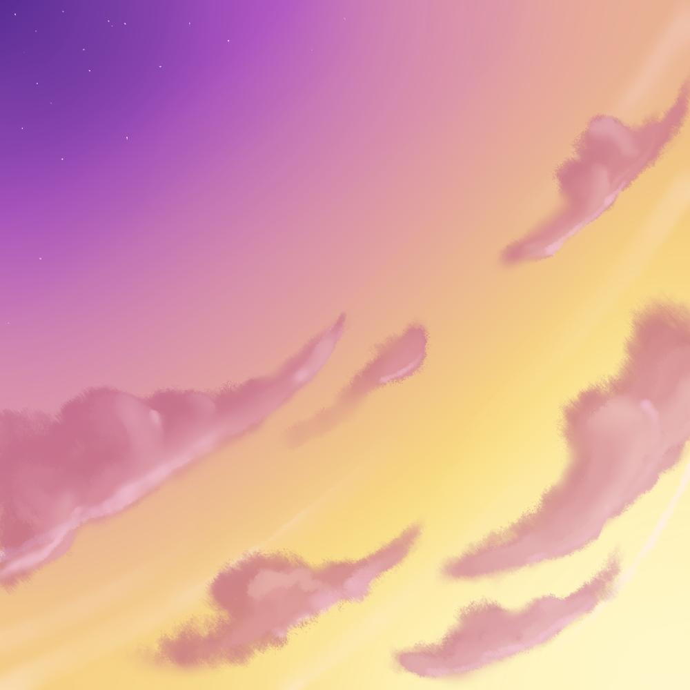 Pink Sky by RuuRuu-Chan