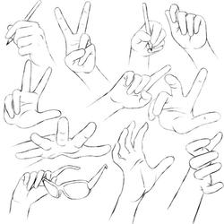 Hands Practice 2 by RuuRuu-Chan