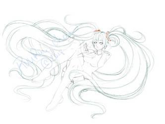 Hatsune Miku by RuuRuu-Chan