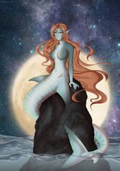 Shark Mermaid by RuuRuu-Chan