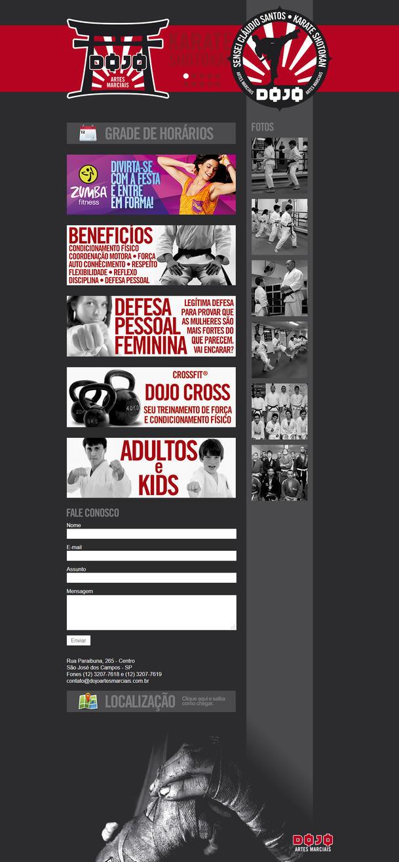 Dojo Website by LGRuffa