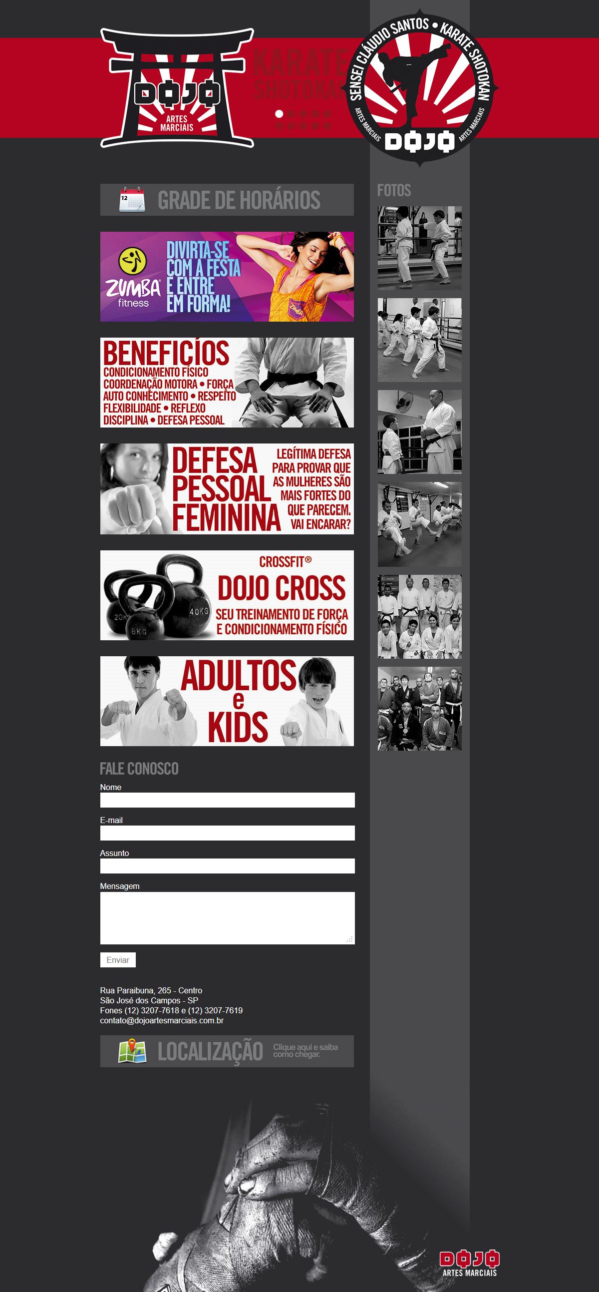 Jiujitsu Website Designs