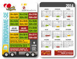 CCR NovaDutra Pocket Calendar