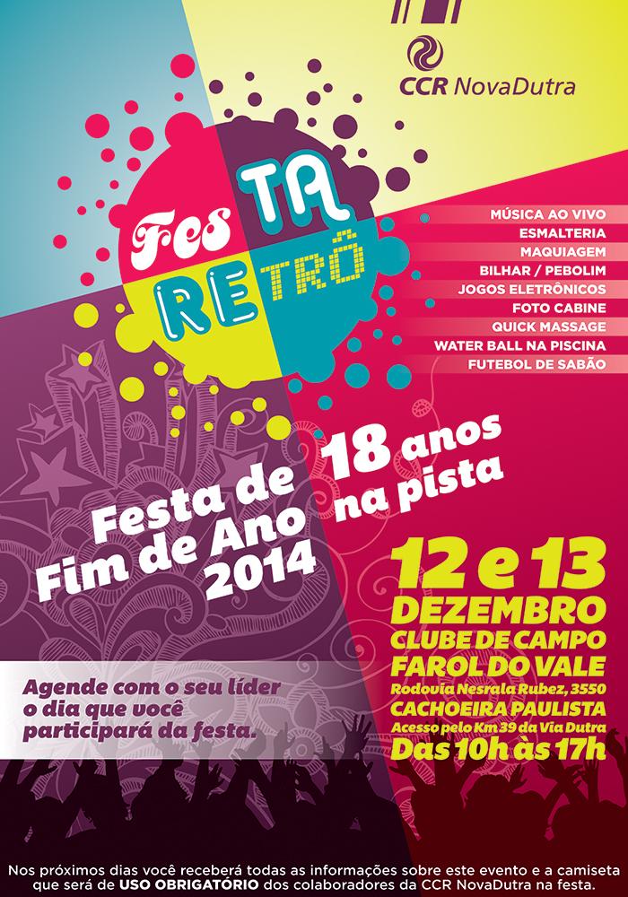 CCR Nova Dutra Party Poster 2 by LGRuffa
