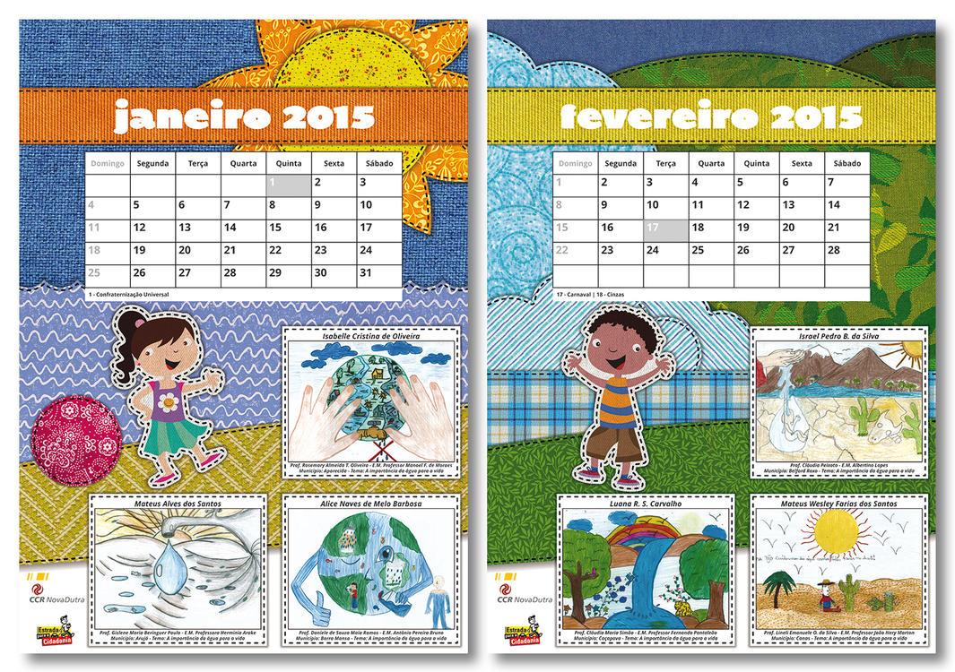CCR NovaDutra 2015 Calendar (2/7) by LGRuffa