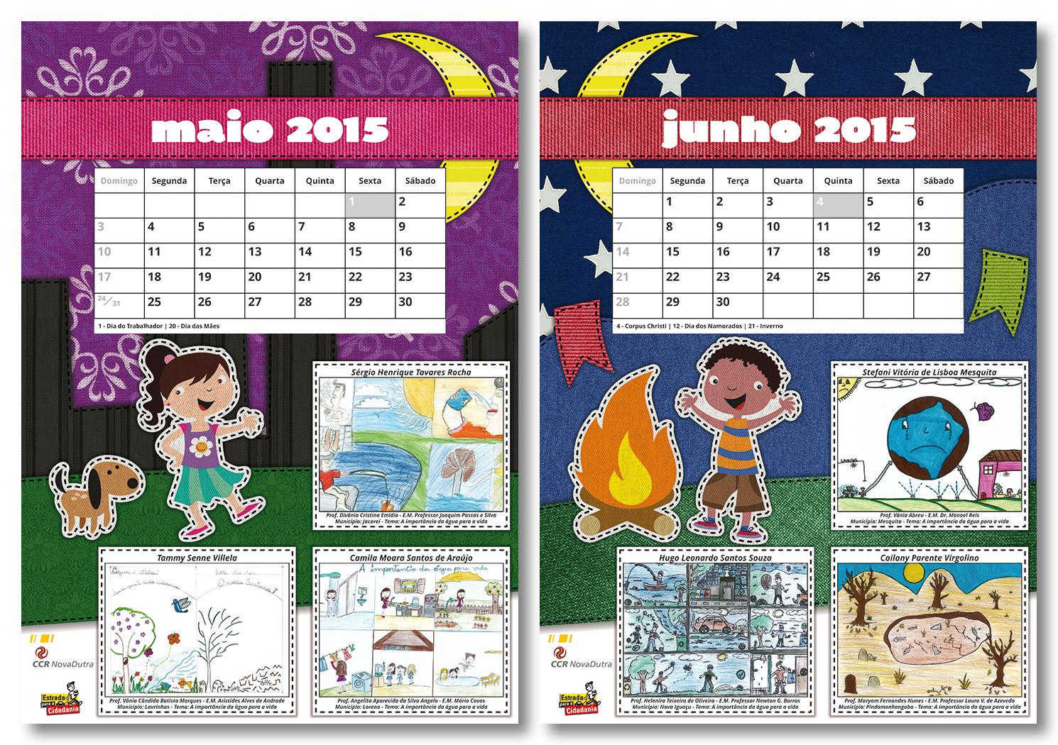 CCR NovaDutra 2015 Calendar (4/7) by LGRuffa