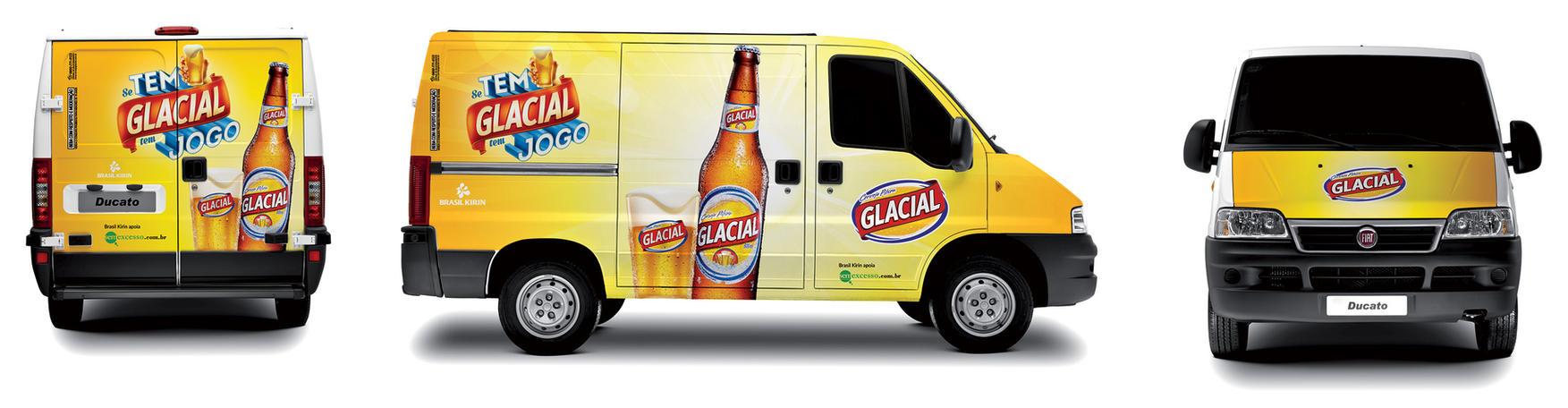 Glacial Beer Van by LGRuffa