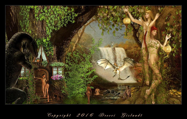 Les meliades au jardin des hesprides couleur by gislaadt for Au jardin des malentendus