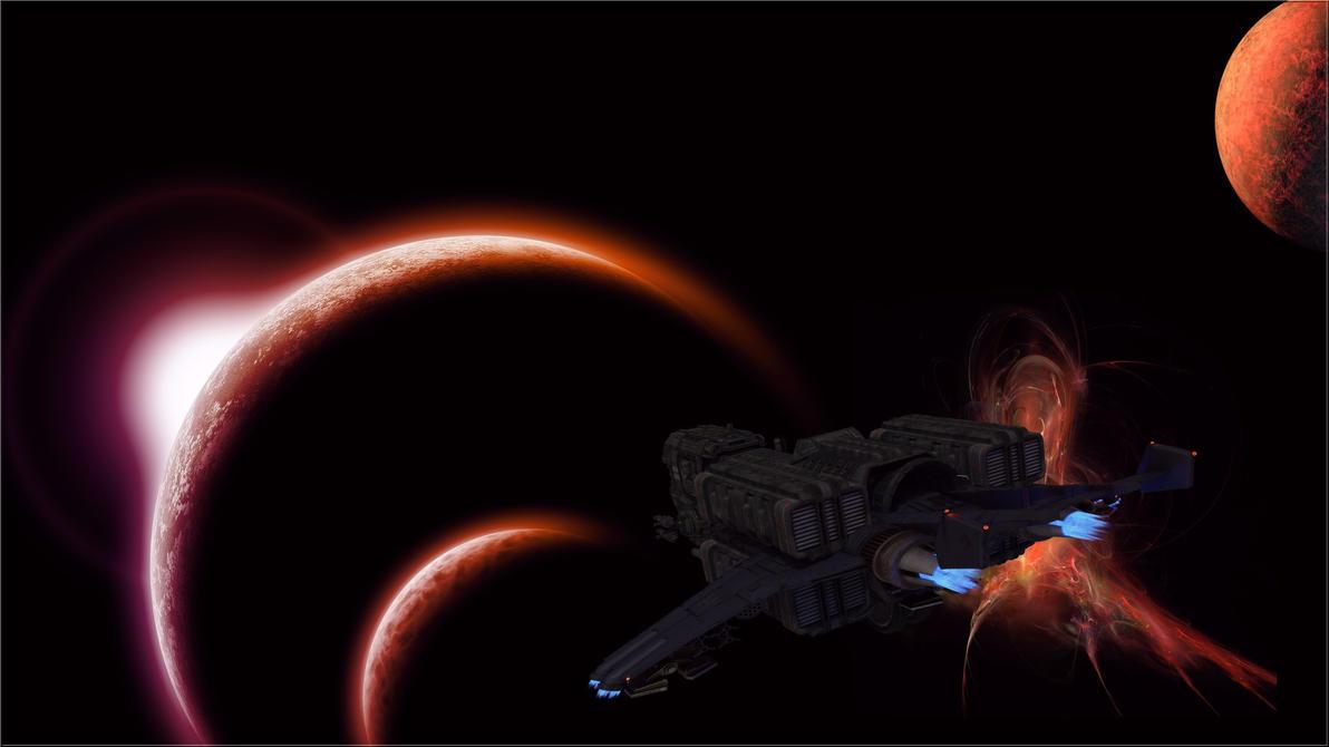 Aeyioe Nebula - DA by Gislaadt
