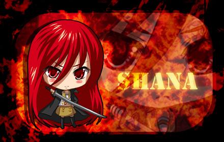 Red Hot Shana by linlilian
