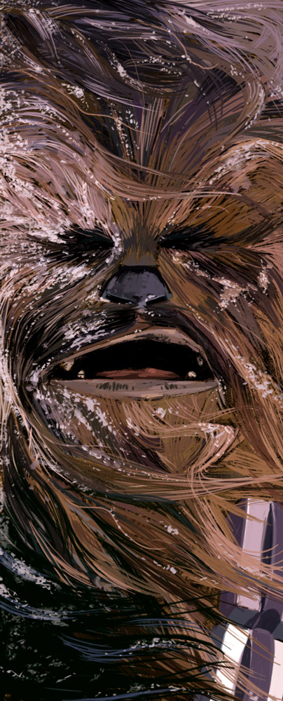 Chewbacca by mutleyjames