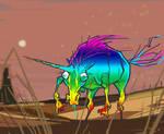 The Majestic Unicorn by mutleyjames