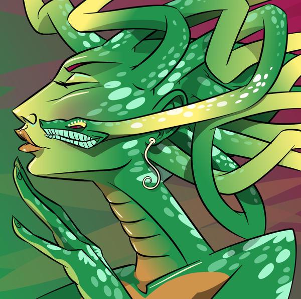 Medusa kiss