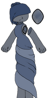 Dark Blue Chalcedony