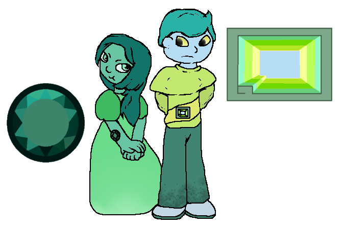 Emerald And Green Bismuth by SkyPaint1