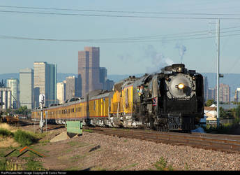 Union Pacific 844 by Confused-Man