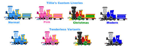 Tillie's Custom Liveries by Confused-Man