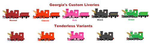 Georgia's Custom Liveries by Confused-Man