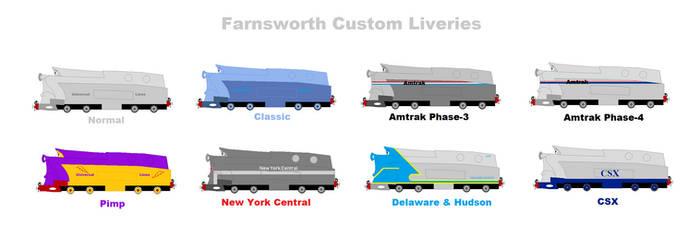 Farnsworth Custom Liveries by Confused-Man