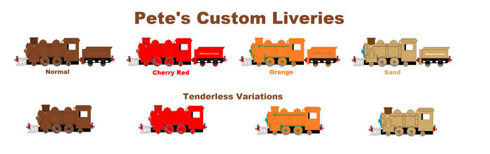 Pete's Custom Liveries by Confused-Man