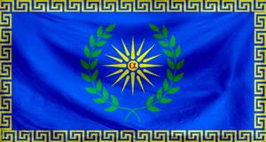 Texture Flag of the Argead Dynasty