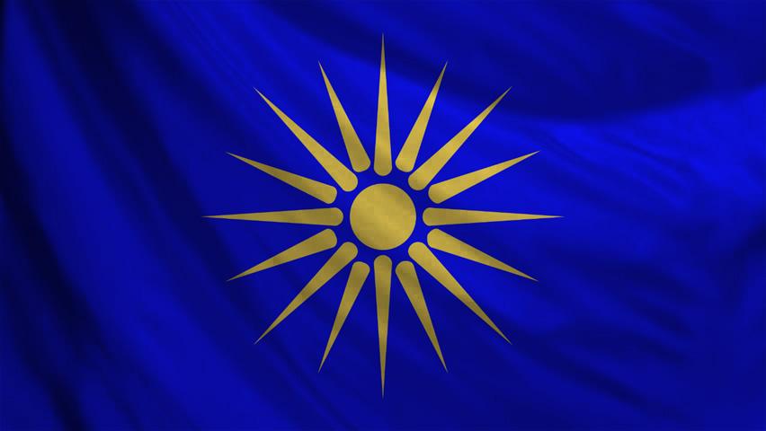 Sun of Vergina Macedonian Flag Texture by Hellenicfighter