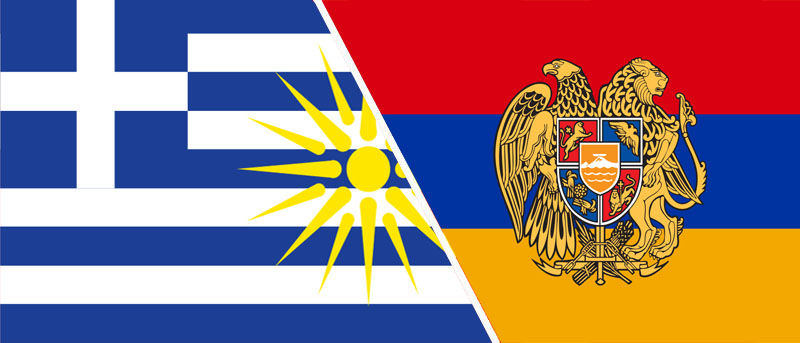 Greece and Armenia Friendship by Hellenicfighter