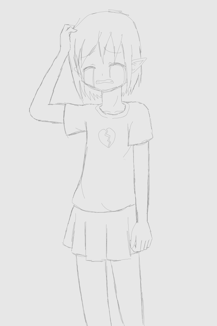 Sadness by SashikuChan