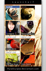 Launcher7 Screenshot by PureSlurpee