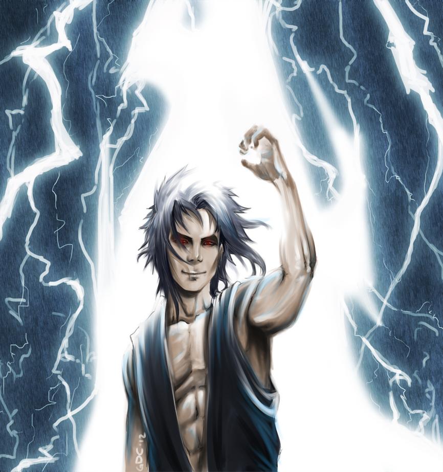 Sasuke Uchiha Kirin Kirin by giando1611990