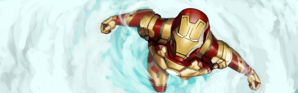 Iron Man MK XLII by Giando1611990