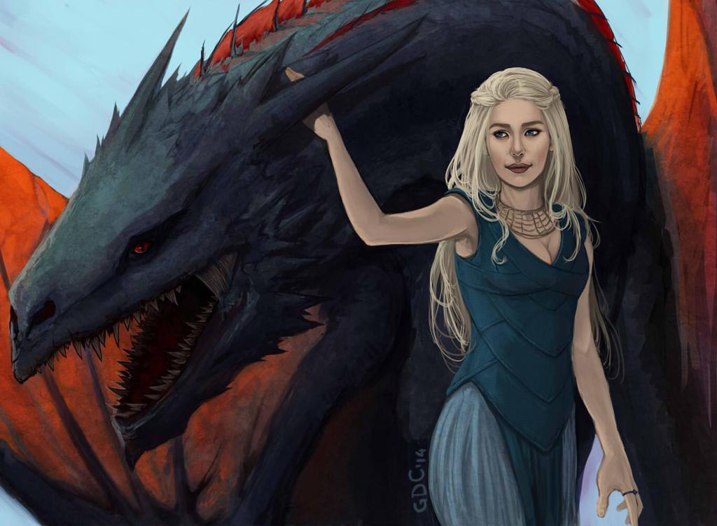 Daenerys by Giando1611990
