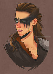 Lexa With Colors by rafidesousa